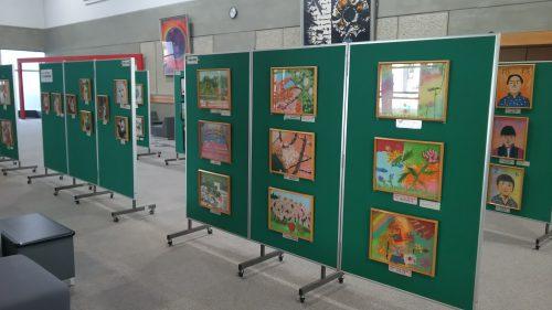 第35回小原地区子ども和紙作品展開催